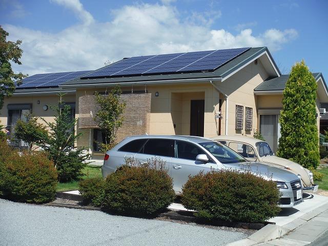 太陽光パネル設置事例施工後3