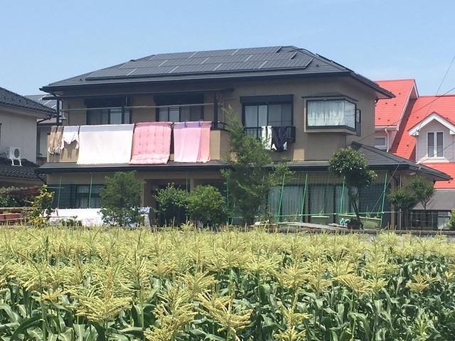 太陽光パネル設置事例施工後5