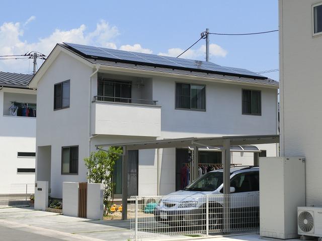 太陽光パネル設置事例施工後6